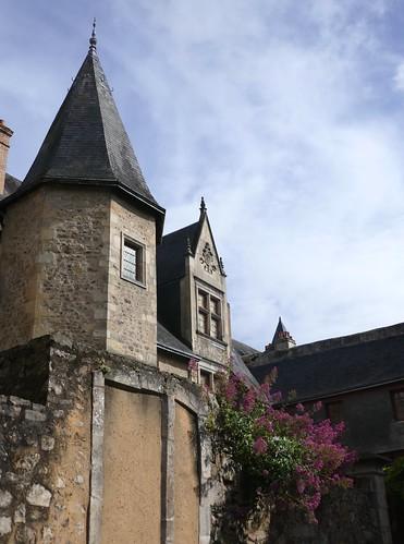 Maison canoniale Saint Jacques (1560), cité Plantagenêt, Le Mans, Sarthe, Pays de la Loire, France.