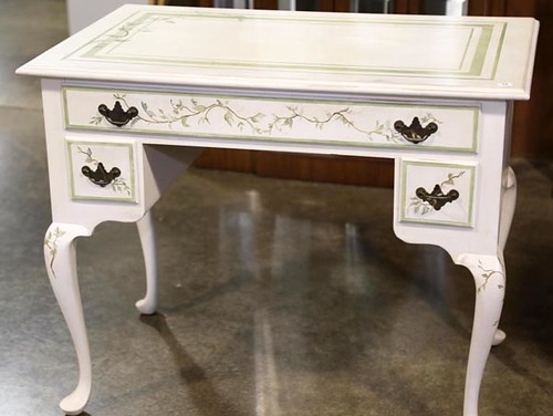 Ray Pine Painted Desk ($336.00)