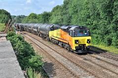 70816 Blackburn 1-8-19. (Blackburns Railway Scene) Tags: 70816 class70s colas 6e32 ainsworthbridge