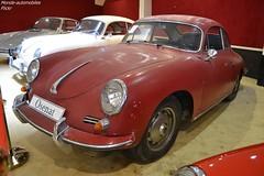 Porsche 356 1600 S B-T5 1961 (Monde-Auto Passion Photos) Tags: voiture vehicule auto automobile porsche 356 coupé red rouge ancienne classique rare rareté collection sportive vente enchère osenat france fontainebleau