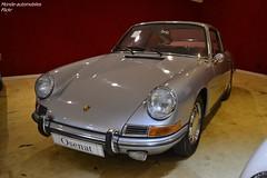 Porsche 912 1967 (Monde-Auto Passion Photos) Tags: voiture vehicule auto automobile porsche 912 coupé gris grey ancienne classique rare rareté collection sportive vente enchère osenat france fontainebleau