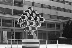 Image 22 (Astroyan16) Tags: marseille noir et blanc nb bw black white analog argentique film contrast architecture geometry