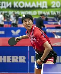 Ох Сан Ён (Oh Sang Eun), Ю.Корея. (Sergey Klyucharev) Tags: настольныйтеннис пингпонг спорт tabletennis pingpong sport