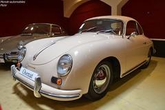 Porsche 356 1600 A-T1 1956 (Monde-Auto Passion Photos) Tags: voiture vehicule automobile auto porsche 356 coupé blanc white ancienne classique rare rareté collection vente enchère osenat france fontainebleau