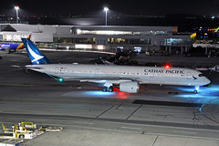 B-LRJ (Rich Snyder--Jetarazzi Photography) Tags: cathaypacificairways cathaypacific cathay cpa cx airbus a350 a350900 a350941 a359 blrj departure departing sanfranciscointernationalairport sfo ksfo millbrae california ca airplane airliner aircraft jet plane jetliner ramptowera rcta atower dark night lights