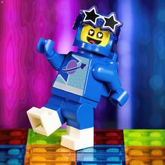 Disco Benny (Jezbags) Tags: disco benny lego legos toy toys canon canon80d 80d 100mm macro macrophotography macrodreams macrolego spaceman dancing