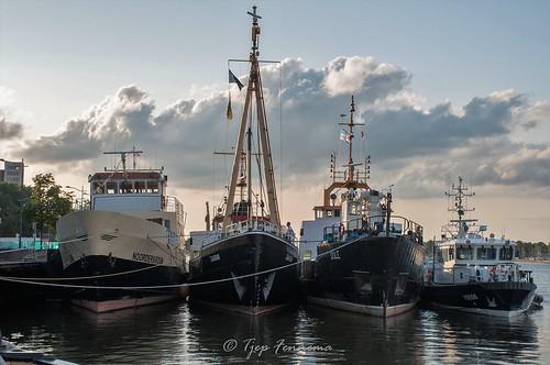 zeekadetten Lelystad op zomerkamp in kampen