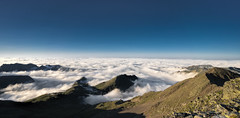 Above Clouds (StarCitizen) Tags: andorra mountains clouds sky sunny pyrenees rocks