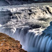 Crevice at Gulfoss