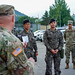 U.S. Army officer promotes Republic of Korea Army Soldier aboard Camp Casey