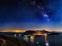 Vulcano and Milky Way (Enrique Mesa) Tags: vulcano milkyway astrofotografía astrophotography astronomy astronomía outdoors isoleeolie