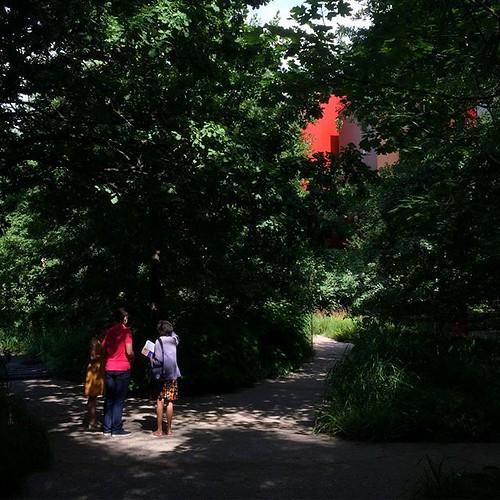 Jeux de lumière dans le jardin du @quaibranly #Paris #jardindété2019 #tw