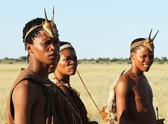 Portrait of Bushmen - Central Kalahari - Botswana (lotusblancphotography) Tags: africa afrique kalahari botswana travel voyage people personnes bushmen portrait