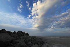 View over Magadikgadi salt pan from Kubu island - Kalahari - Botswana (lotusblancphotography) Tags: africa afrique botswana magadikgadi saltpan kalahari kubuisland rocks rochers clouds nuages nature
