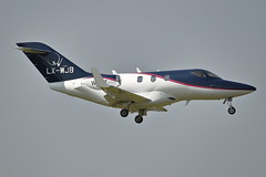 LX-WJB (Rob390029) Tags: flying group luxembourg honda ha420 lxwjb newcastle airport ncl egnt