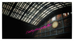 I want my time with you... (Jean-Louis DUMAS) Tags: horloge clock time architect architecture station gare londres london cityartistsfreeart