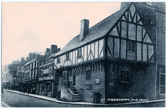 Aberconwy House (pepandtim) Tags: postcard old early nostalgia nostalgic aberconwy house british manufacture divided castle street high wales 1420 restored 1976 medieval merchant plas mawr edward walls 1284 1417 1950 temperance hotel national trust 1934 museum cellar corbel 78abe43