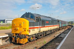 37419 at Great Yarmouth with 2P12 0836 Norwich - Great Yarmouth 11/07/19. (chrisrowe37419) Tags: 37419