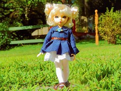 A New Frock (Forest_Daughter) Tags: fairyland littlefee ante bjd balljointed doll