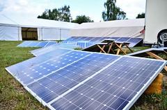 Klimacamp Aufbau 2019