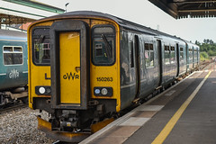 150263, Exeter St. David's (JH Stokes) Tags: class150 dmu dieselmultipleunits gwr greatwesternrailway exeterstdavids exeter trains trainspotting tracks transport railways photography publictransport devon 150263