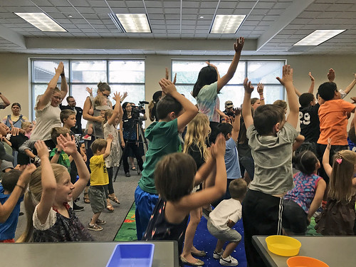 Librarian of Congress Visits Marysville Library 08/01/19