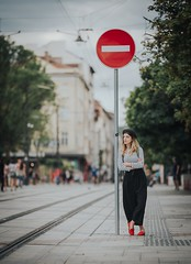 Attenzione (Pavel Valchev) Tags: 135mm sony a7iii a7m3 tele lens manual walimex rokinon nex ilce mirrorless sofia street camera lightroom photoshop preset woman bulgaria emount vsco manualfocus mf focus