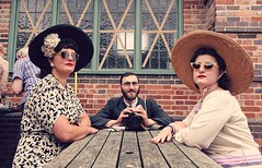 BCLM 1940s. July 2019. Ben Between Two Roses (Simon W. Photography) Tags: blackcountrylivingmuseum blackcountrymuseum museum dudley westmidlands england blackcountry birmingham historicbuildings industrial 1940sweekend wartimeevent wartimeevent2019 vintagefestival armedforces nostalgic nostalgia fashion vintage festival retro ww2 1940svintage livinghistory history historic war wwi wwii uniform military sonyrx10iv sonyrx10m4 sonyuk sony sonydscrx10m4 sit sat sitting seated seat reclining relax relaxing