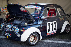 🇮🇹Fiat 500 elaborazioni Carloni 🇮🇹 (max832) Tags: custom pimpedup motor engine tires italian style cup driver cars engineering design sport racing olympus omd tricolore italy italia fiat 500