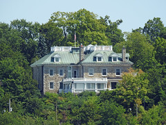 The official residence of the United States Ambassador to Canada in Rockcliffe Park,   Ottawa, Canada, viewed from across the Ottawa River in Gatineau, Quebec (Ullysses) Tags: warrenysoper warrenyoungsoper ottawaelectricrailwaycompany ottawacarcompany lornadoone lornado manor officialresidence unitedstatesambassadortocanada rockcliffepark ottawa ontario canada summer été gatineau quebec ottawariver rivièredesoutaouais ahearnandsoper ottawalightandpowercompany ottawatelephonecompany ottawastreetrailway oshawarailwaycompany ottawahistory ottawaelectriccompany