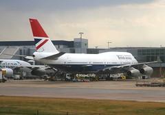 British Airways                                     Boeing 747                               G-CIVB (Flame1958) Tags: britishairways britishairwaysb747 retrojet baretrojet britishretrojet boeing747 b747 747 gcivb lhr egll londonheathrowairport heathrowairport heathrow 260719 0719 2019 5461