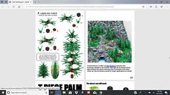 Arendelle Castle Moc featured in Tree Techniques Handbook (ben_pitchford) Tags: lego treetechniques treetechniqueshandbook legomoc legobook legonews afol brickfan