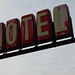 MOTEL sign in Plainfield, Wisconsin 4/28/1019 6:20PM