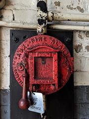 Fire alarm detail (DC Products) Tags: 2019 newjersey essexcounty westorange thomasedison edisonlaboratory thomasedisonnationalhistoricalpark nationalpark nps findyourpark