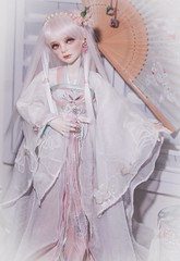Moon Goddess (assamcat) Tags: msd bjd dollmore balljointeddoll canon macro chineseclothing