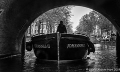 20190512 Canal Cruise 27515-Edit (Laurie2123) Tags: amsterdam bnw fujixt2 laurieabbotthartphotography laurietakespics laurie2123 blackandwhite canal mono monochrome monotone vacation silhouette
