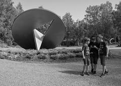 Sculpture park (AstridWestvang) Tags: art kistefos museum oppland park parking people sculpture