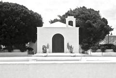 Church (•Nicolas•) Tags: 125iso bw camera canaryislands collection espagne fp4 holidays ilford ilfosol lanzarote leicaiiif nb nicolasthomas spain vacances vintage