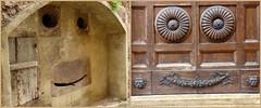 Freundliche Stadt! / Friendly town ! (ursula.valtiner) Tags: tor door gate smile lächeln friendly freundlich colledivaldelsa provinzsiena provincesiena italien italy tuscany toskana toscany