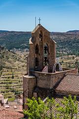 IGLESIA DE SANTA MARIA (juan carlos luna monfort) Tags: morella castellon castello campana campanario cruz nikond810 nikon24120 calma paz tranquilidad