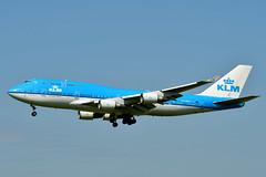 PH-BFS B747-406 cn 28195 KLM 190730 Schiphol 1003 (Nikon Photographer NL) Tags: b747 klm polderbaan phregister airliners aviation schiphol