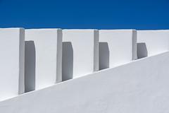 Geometry with walls (Jan van der Wolf) Tags: map194499v walls muren white wit lanzarote gevel gebouw architecture architectuur geometric geometry geo geometrisch geometrie