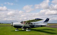 N537TA Cessna 206, Scone (wwshack) Tags: ce206 cessna cessna206 egpt perthkinross perthairport perthshire scone sconeairport scotland n537ta