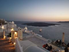 Fira Blue Hour, Santorini (sandorson) Tags: fira santorini greece cyclades thira island aegean caldera sea volcano bluehour