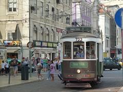 Carris 722 (Elad283) Tags: lisboa lisbon portugal elétricosdelisboa carris tram tram28 lisbontram remodelado tramtour 722