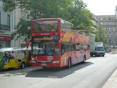 Douro Acima 63-LZ-77 (Elad283) Tags: lisboa lisbon portugal 63lz77 douroacima waggonunion opentopbus man sd202 sd202f sightseeing liderbus