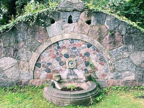 Vallø Castle Old Spring