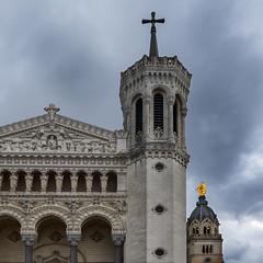 Notre-Dame de Fourvière - Lyon (JLM62380) Tags: notredame fourviére notredamedefourviére lyon france ciel nuage sky clouds religion church basilica basilique monument architecture