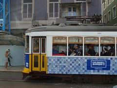 Carris 582 (Elad283) Tags: lisboa lisbon portugal elétricosdelisboa carris tram tram28 lisbontram remodelado 582 azulejo azulejos
