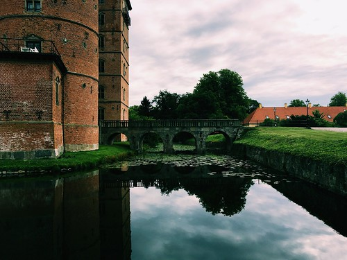 Vallø Castle Moat and bridge